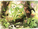 Dryad-of-spring